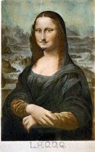 monalisa - duchamp