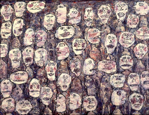DUBUFFET_multitud-affluence_1961_0