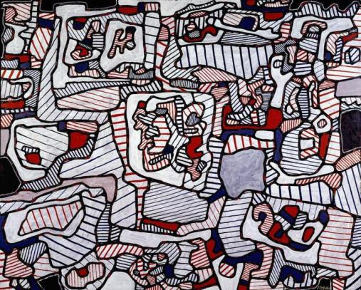 Jean Dubuffet_Site inhabited by Objects